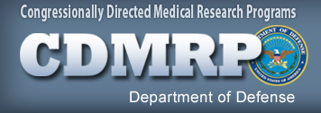 Congressionally Directed Medical Research Programs (CDMRP) logo