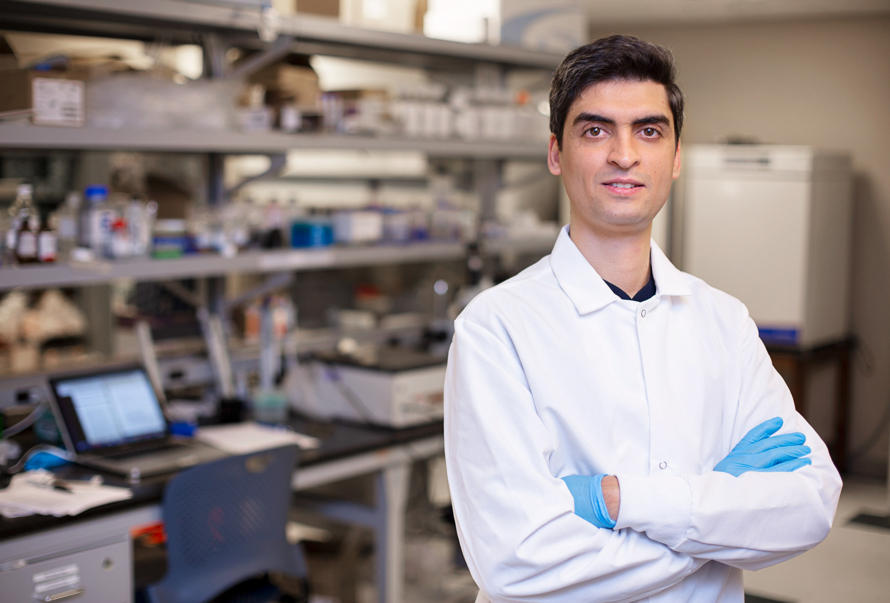 Farhad Farjood, one of the lead researchers on the retinal cells study