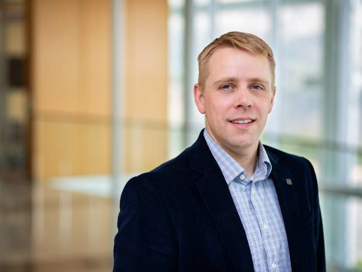 USU Faculty Member Brian Crookston Receives Young Professional of the Year Award | College of Engineering