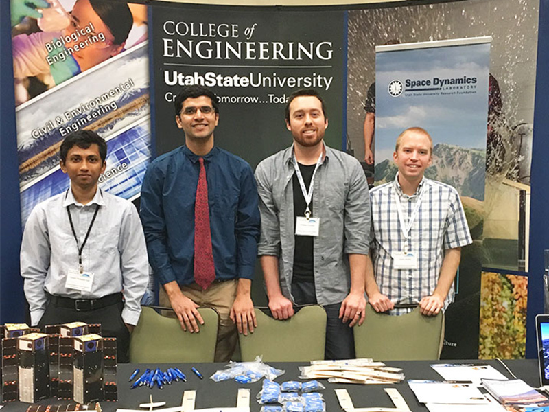 USU Students Present at 41st Annual Astronautical Conference