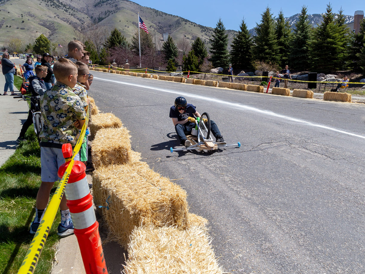 USU Mechanical Engineering Team Takes First at Soapbox Derby | College of Engineering
