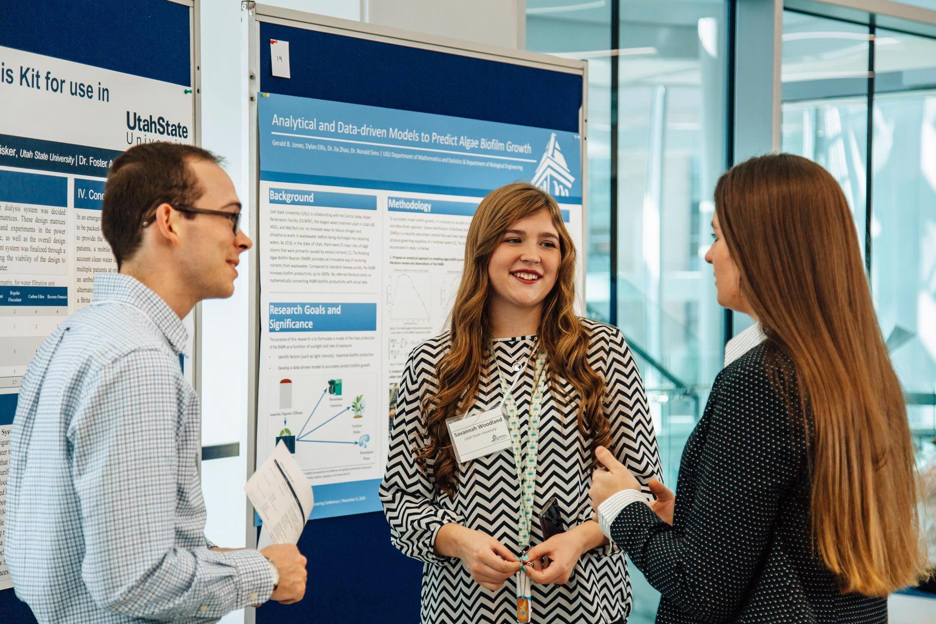 IBEC 2019 poster presentations from students