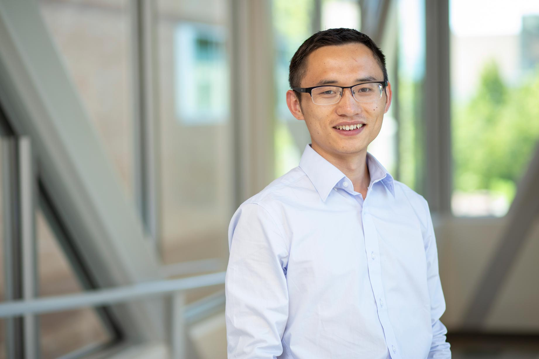 ECE assistant professor Hongjie Wang received a $300,000 grant from the Department of Energy to develop new security standards for solar-powered, community-scale utility grids.