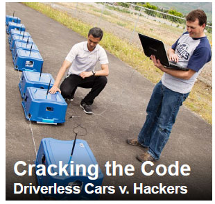 Cracking the Code Driverless Cars v. Hackers