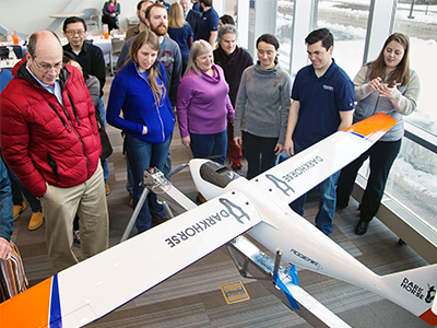 Utah Water Research Lab Unveils Latest in Unmanned Aerial Vehicles | College of Engineering