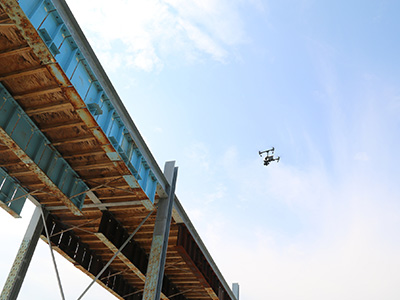 USU Researchers Evaluate Drones for Bridge Inspections | College of Engineering
