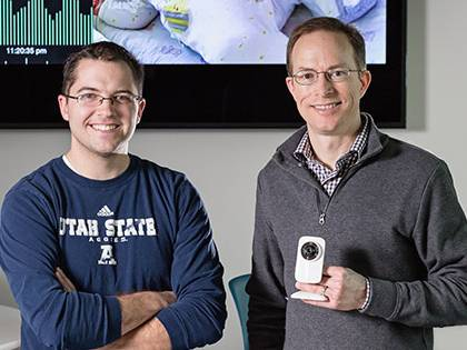 USU Professor and Alum Patent New Heart Rate Estimation Technology | College of Engineering