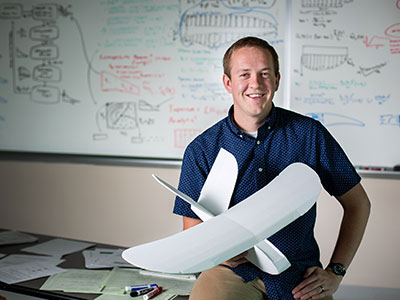 NASA Awards Prestigious Fellowship to USU Engineering Graduate Student | College of Engineering