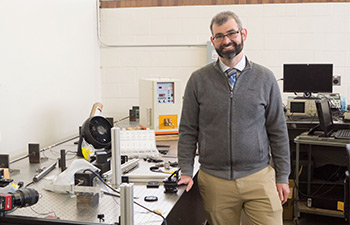 Red Hot: Researchers Develop Imaging Test for Glowing Rocket Engines | College of Engineering