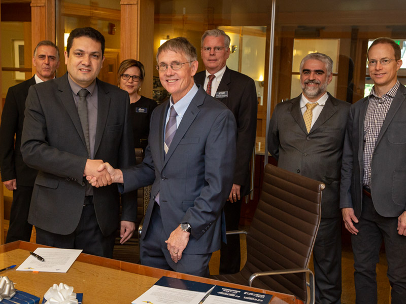USU Launches Partnership with Brazilian Aeronautics Institute