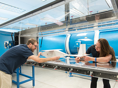 What's New: Recirculating Wind Tunnel | College of Engineering