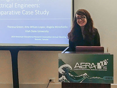 Engineering Education Students Present Research at the AERA Annual Meeting | College of Engineering