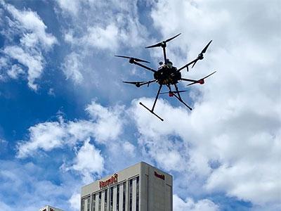 AggieAir Flies for NASA Airspace Study   College of Engineering