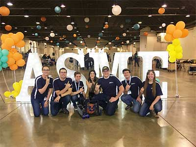 MAE Students Take Third at Robotics Challenge