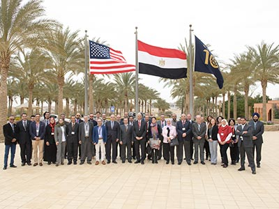 USU Partners with Egyptian Universities for Water Resources Training | College of Engineering