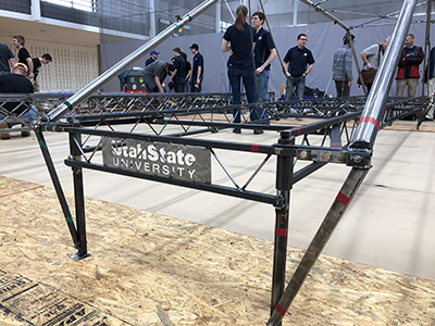 Utah State Steel Bridge Team Qualifies for Nationals | College of Engineering