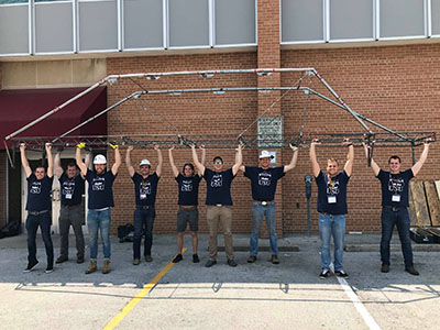 Utah State Steel Bridge Team Takes 15th at Nationals | College of Engineering