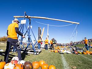 ASME Pumpkin Toss 2017