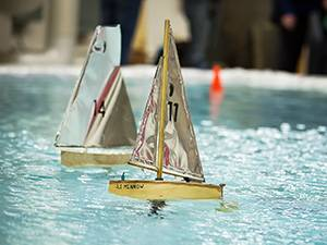 ENGR 1010 model sailing boat
