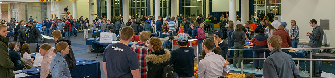 USU Engineering Engineers Week Community Night background header