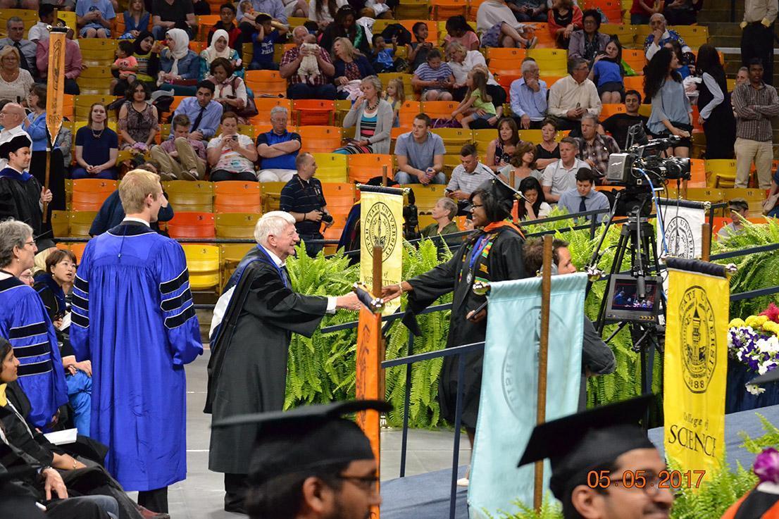 Professor speaking